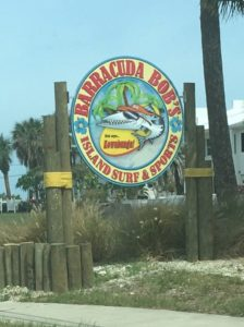 Barracuda Bob's Storefront Sign