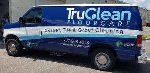 Attractive, Commercial Vehicle Wrap TruClean Floorcare