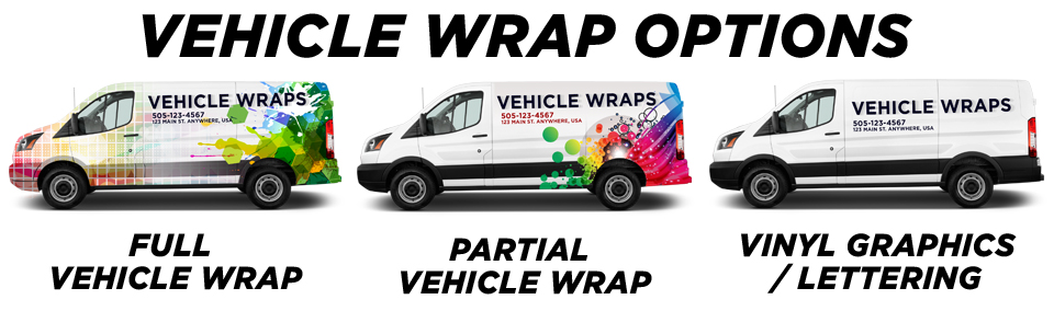 Orlando Vehicle Wraps vehicle wrap options
