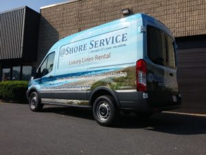 Full Commercial Vehicle Wrap, Van Wrap